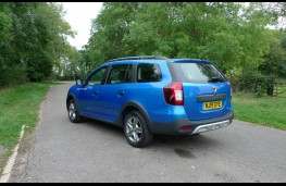 Dacia Logan Stepway, rear static